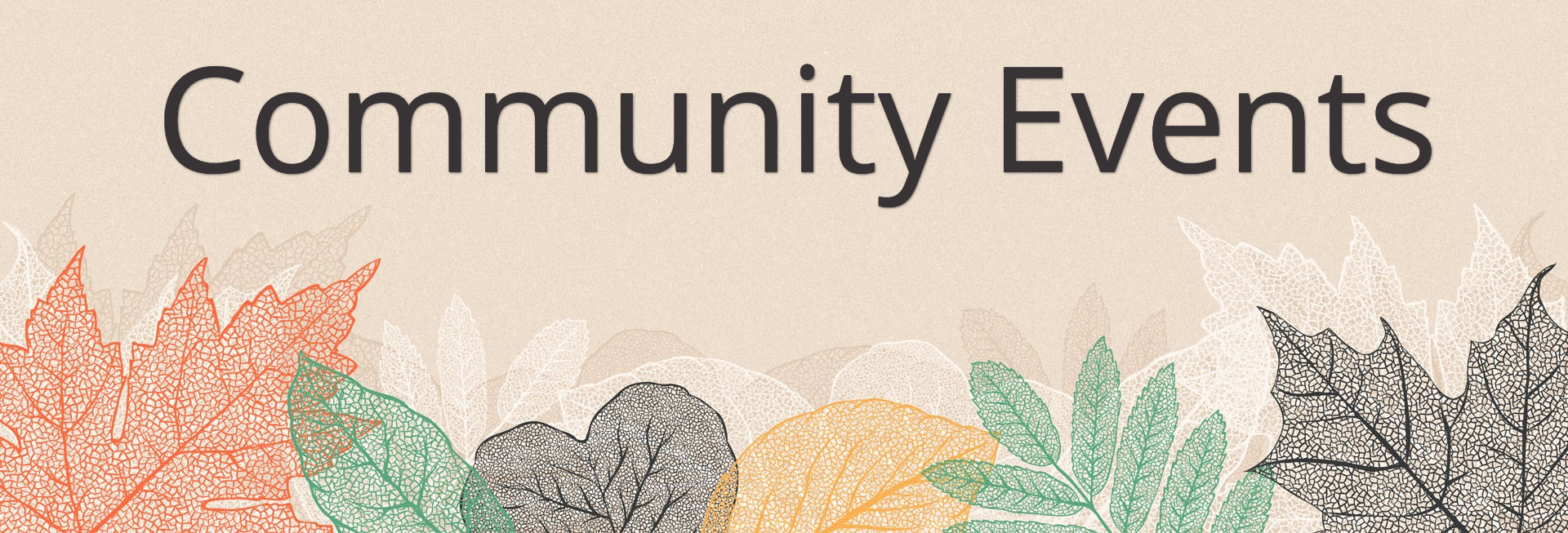 Autumn Festival Church Sermon Website Banner